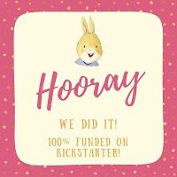 100% funded on Kickstarter!