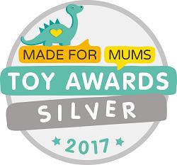 MadeForMums Silver Award!